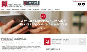 revista española drogodependencias aesed